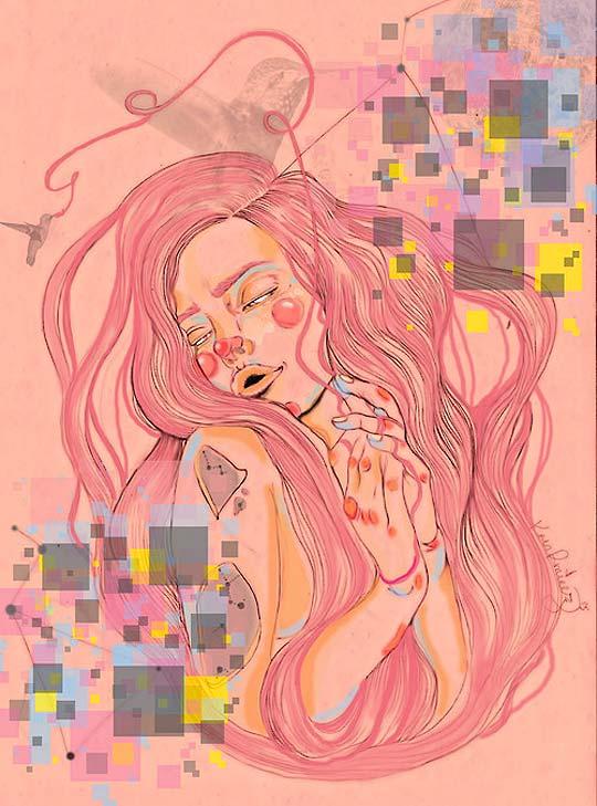 Ilustración de KAREN RAMÍREZ Aka Krn Rmírez