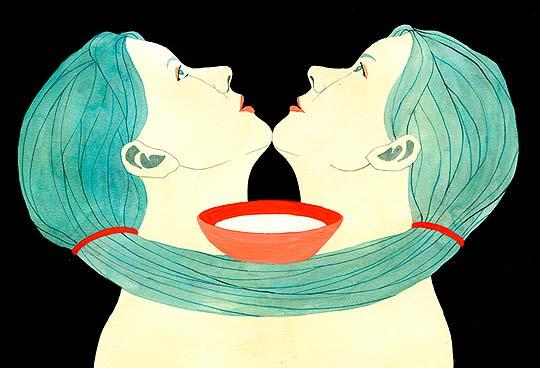 Ilustración de LUISA RIVERA