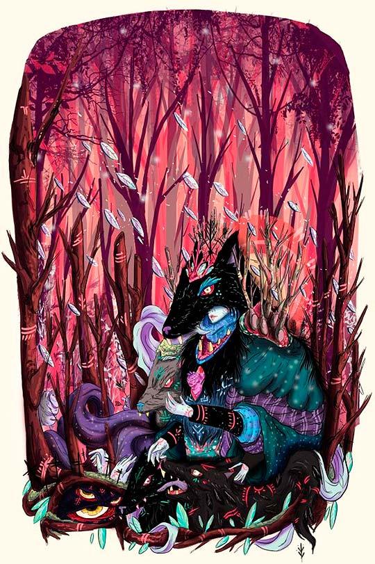 Ilustración de NIJAH LEFEVRE
