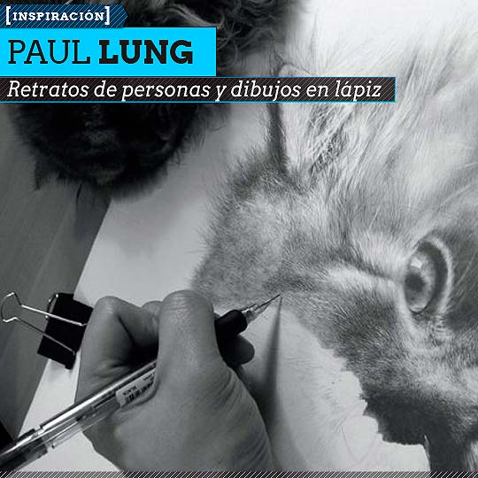 Dibujo en lápiz de PAUL LUNG