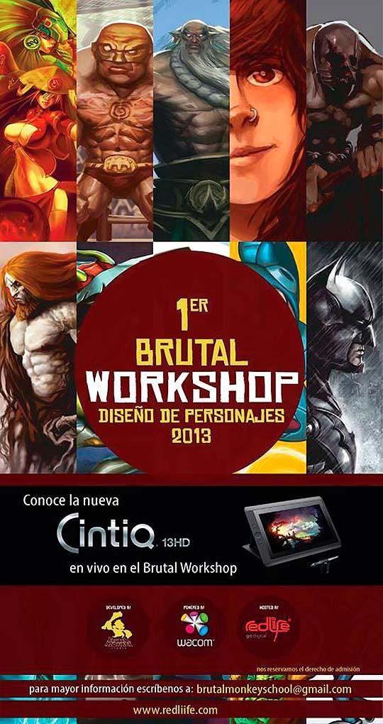 Conoce la nueva Cintiq 13 HD en el Brutal WorkShop.