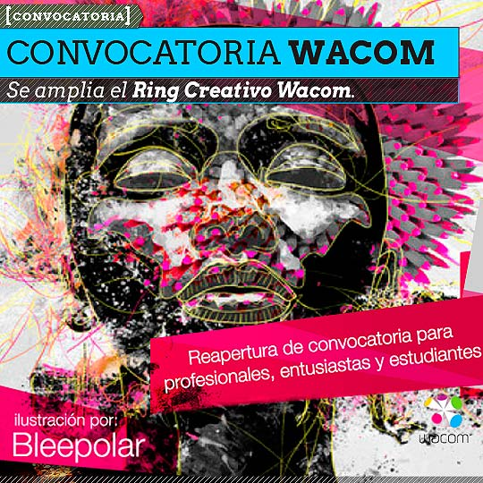 Wacom amplía la Convocatoria Ring Creativo.