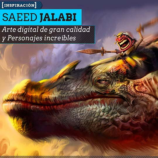 Arte digital de SAEED JALABI