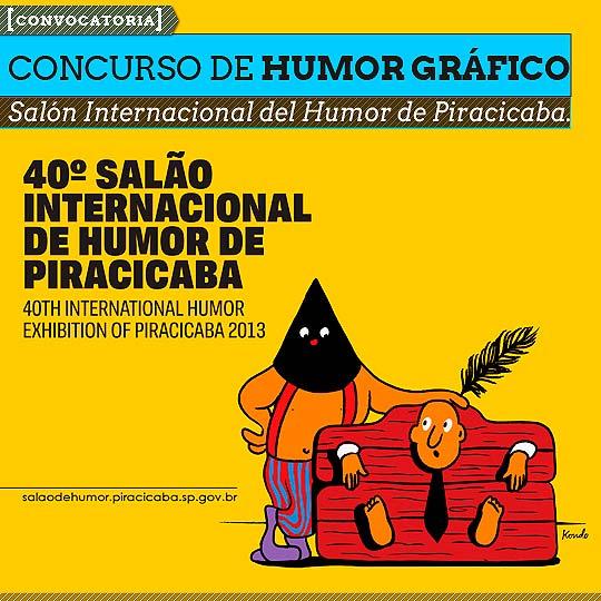 40º Salón Internacional del Humor de Piracicaba.