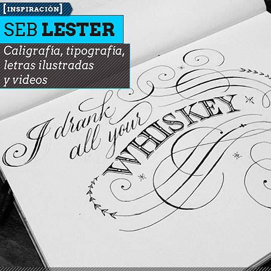 Caligrafía de SEB LESTER