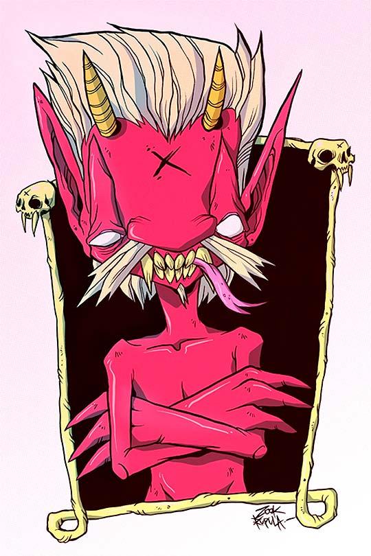 Ilustración de SIMÓN AMARO