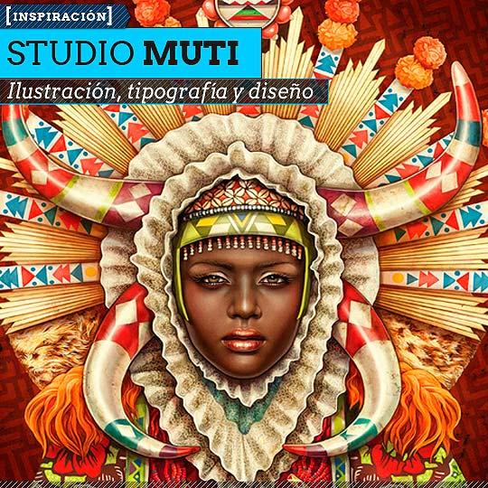 Diseño gráfico de Studio MUTI