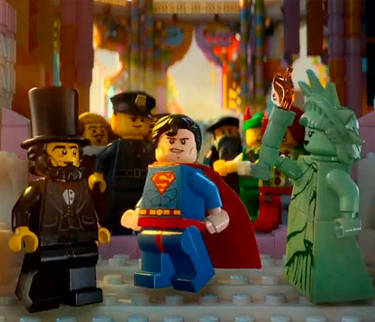 Animación. Trailer de The LEGO movie