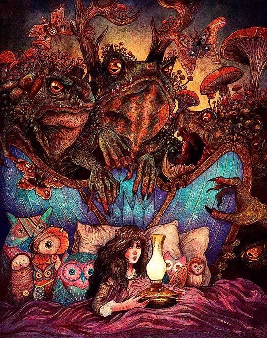 Ilustración de ANGELA RIZZA