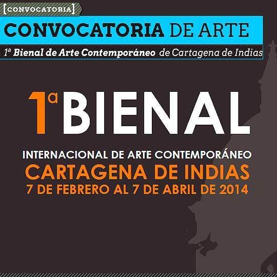 Convocatoria. Bienal de Arte Contemporáneo de Cartagena.