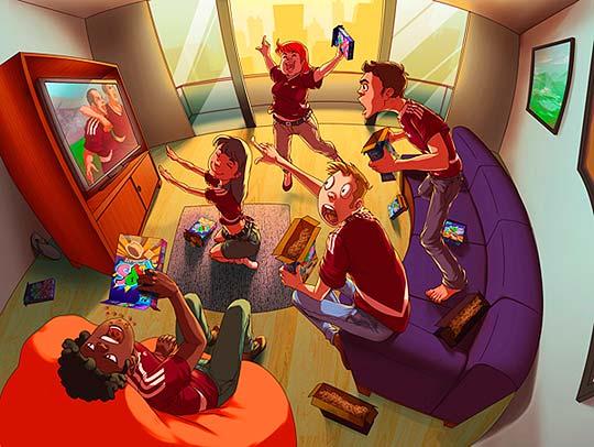 Ilustración de BRAIT HERNÁNDEZ