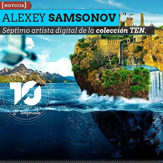 Alexey Samsonov séptimo artista digital de la colección TEN.
