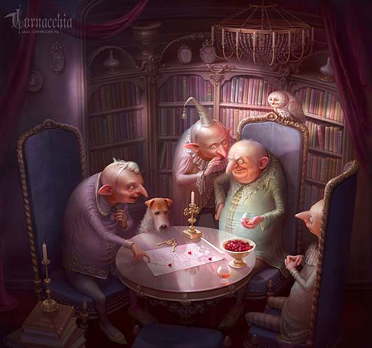 Ilustración de CORNACCHIA