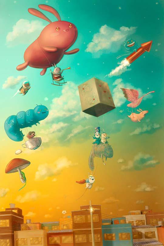 Ilustración de DAVID NIÑO Aka KOCH1NO