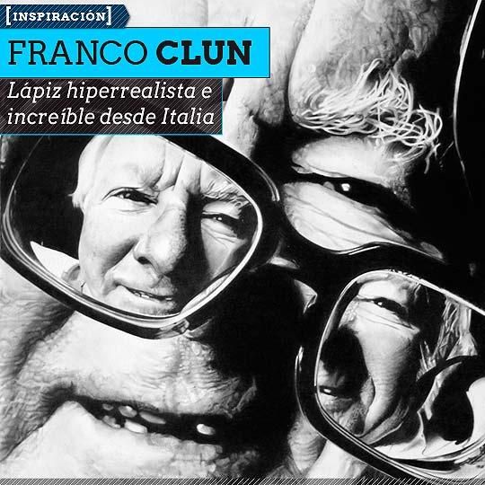 Retrato hiperrealista de FRANCO CLUN