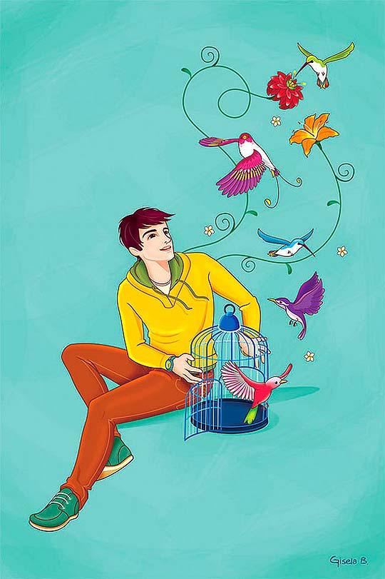Ilustración de GISELA BOHÓRQUEZ