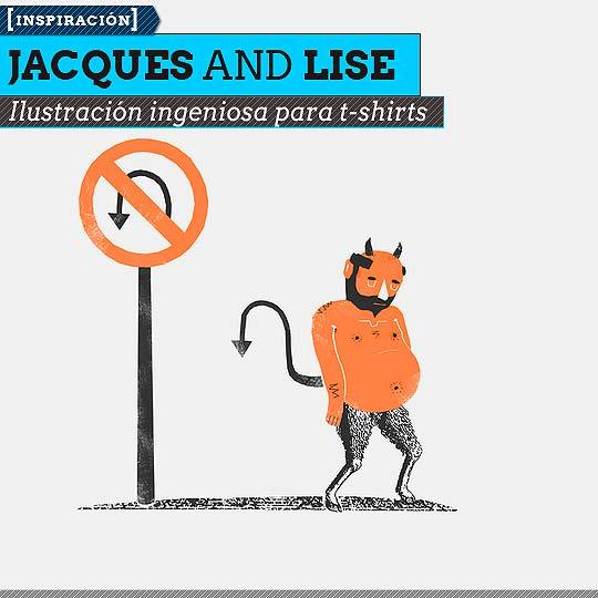 Ilustración de JACQUES AND LISE