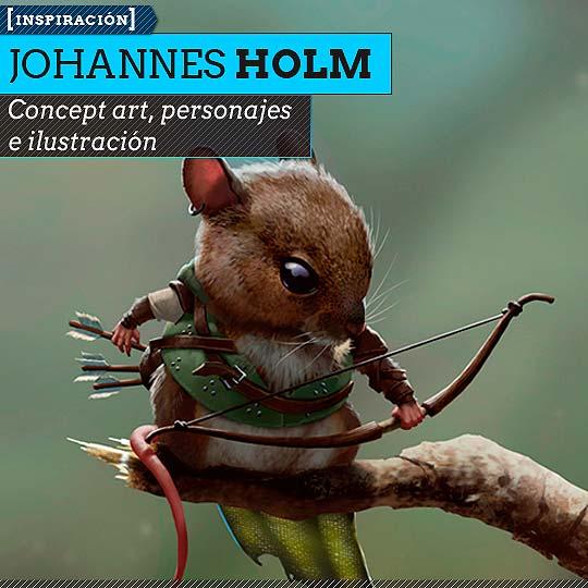 Concept art de JOHANNES HOLM