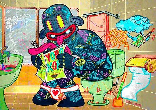 Ilustración de Doctor Juanpa