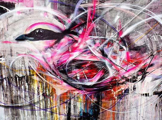 Arte urbano de L7M
