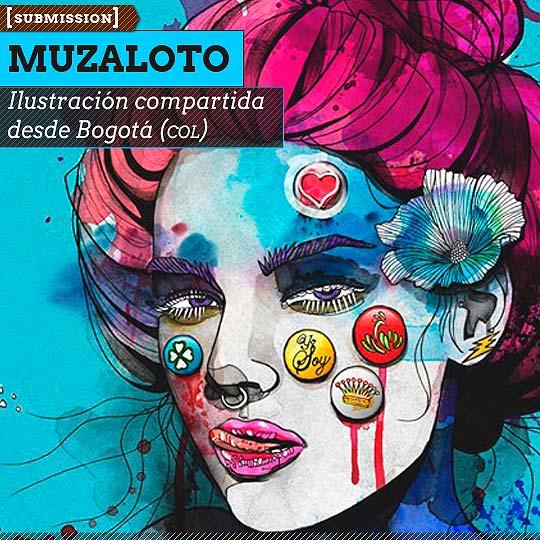 Ilustración de MUZALOTO