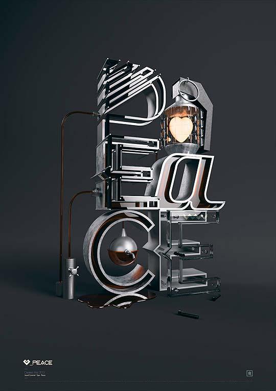 Diseño gráfico, tipografía y 3D con RDN