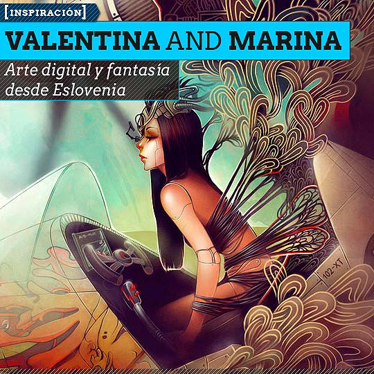 Arte digital de VALENTINA AND MARINA REMENAR