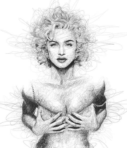 Ilustración y retrato de VINCE LOW