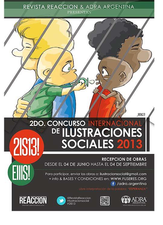 2do. Concurso Internacional de Ilustraciones Sociales.