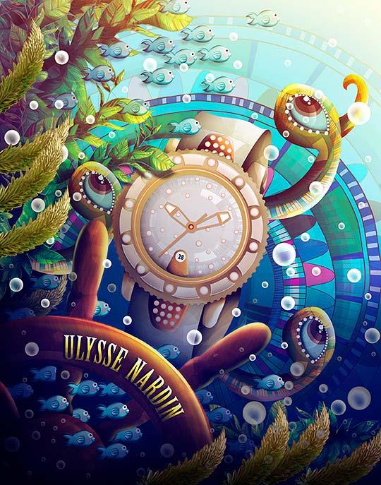 Ilustración de ANNA ANJOS