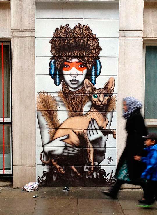 Arte urbano de FIN DAC