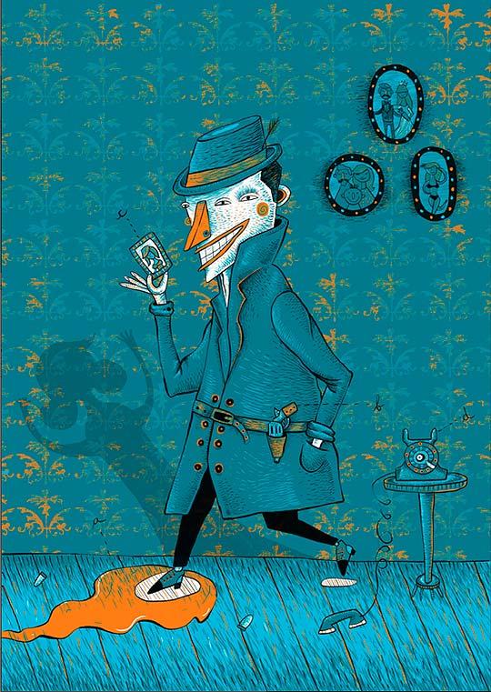 Ilustración de GUSTAVO ORTEGA