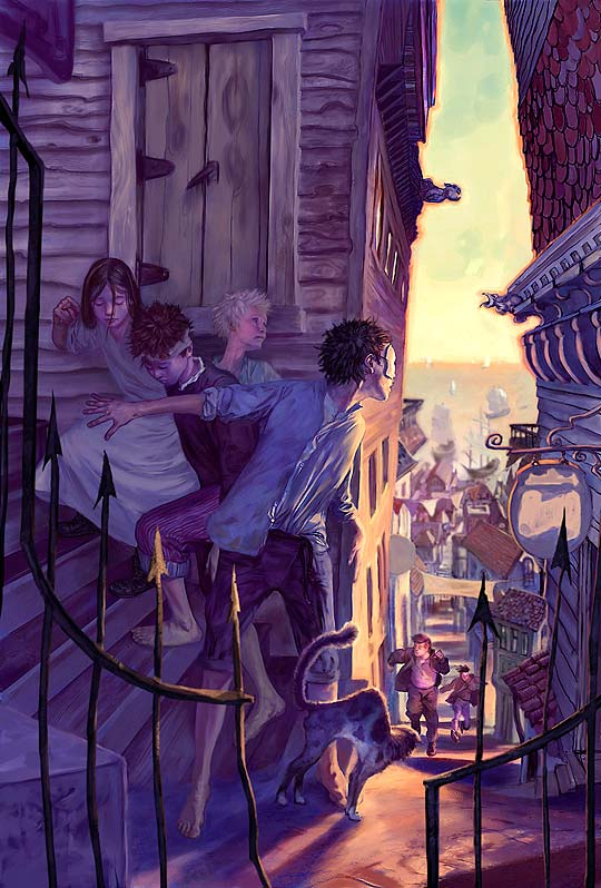 Ilustración de JON FOSTER