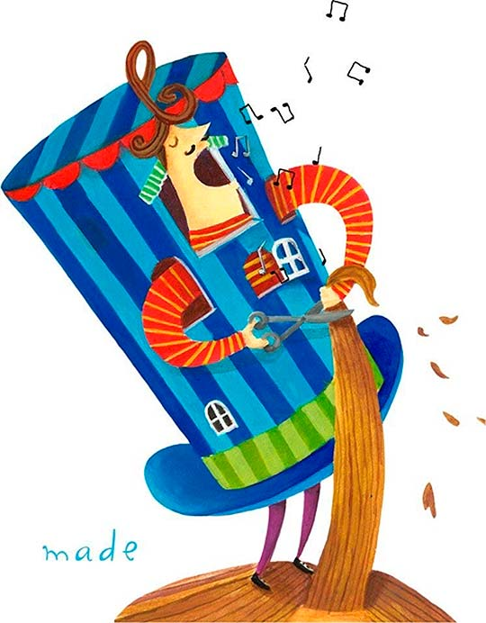 Ilustración de MADELINE JASSO Aka Madeja