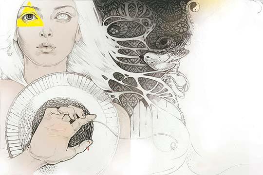 Ilustración de MARTINE JOHANNA