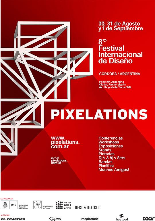 Festival Internacional de Diseño. PIXELATIONS 2013.