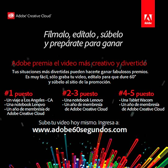 Concurso Adobe. Tu Vida en 60 Segundos.