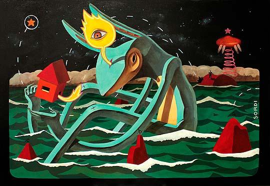 Pintura de ALEJANDRO SORDI.