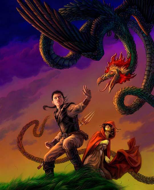 Ilustración de ALLEN DOUGLAS.