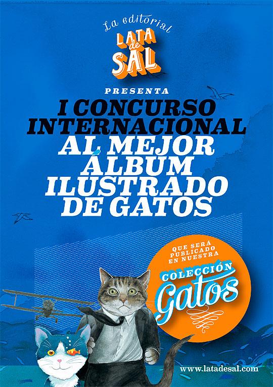Concurso Internacional al Mejor Álbum Ilustrado de Gatos.