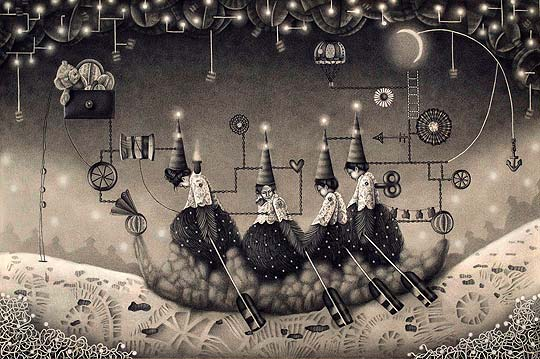 Ilustración de EMILY HAWORTH.