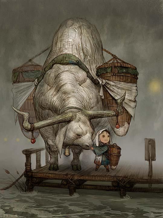 Concept Art de KYOUNG HWAN KIM