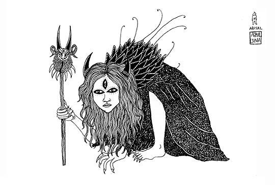Ilustración de LUNA XATLI.