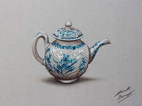 Dibujo realista de MARCELLO BARENGHI.