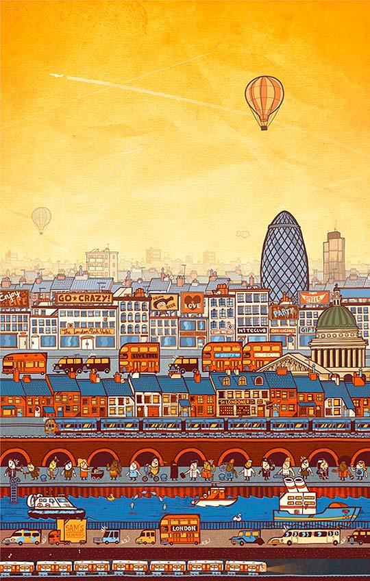 Ilustración de SAM BEVINGTON