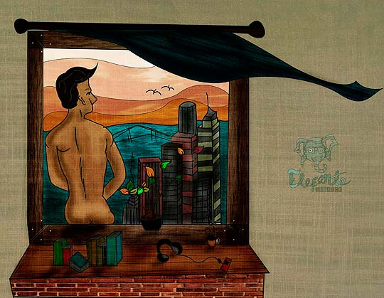 Ilustración de VALENTÍN BAUTISTA