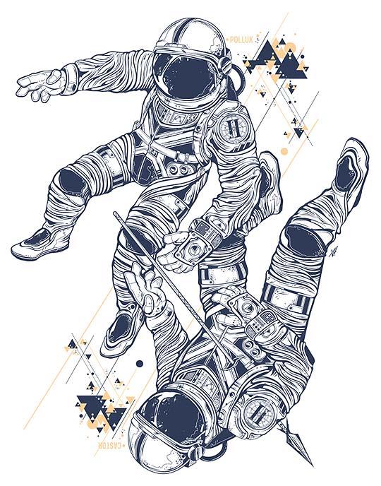 Ilustración de VISCERA VICARIOUS