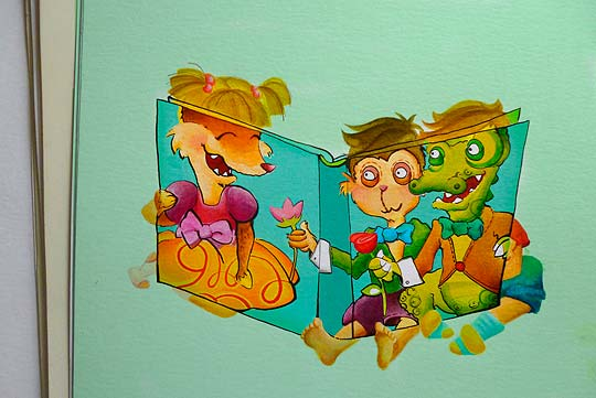 Ilustración de VIVIANA GRONDONA