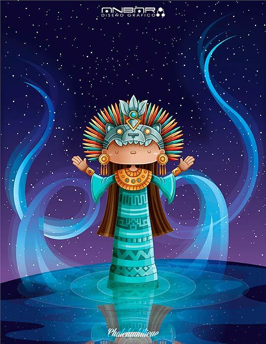 Diosa del agua de ANDRES SALINAS aka Anbardg.