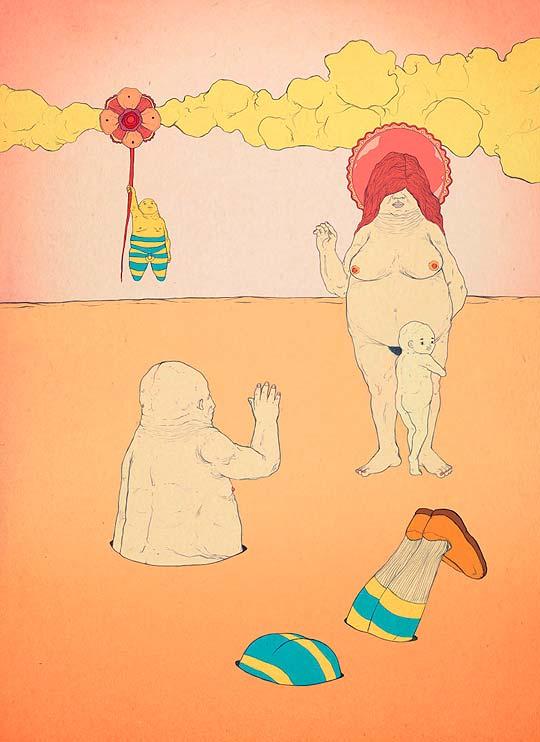 Ilustración de CRISTOPHER ROJAS.